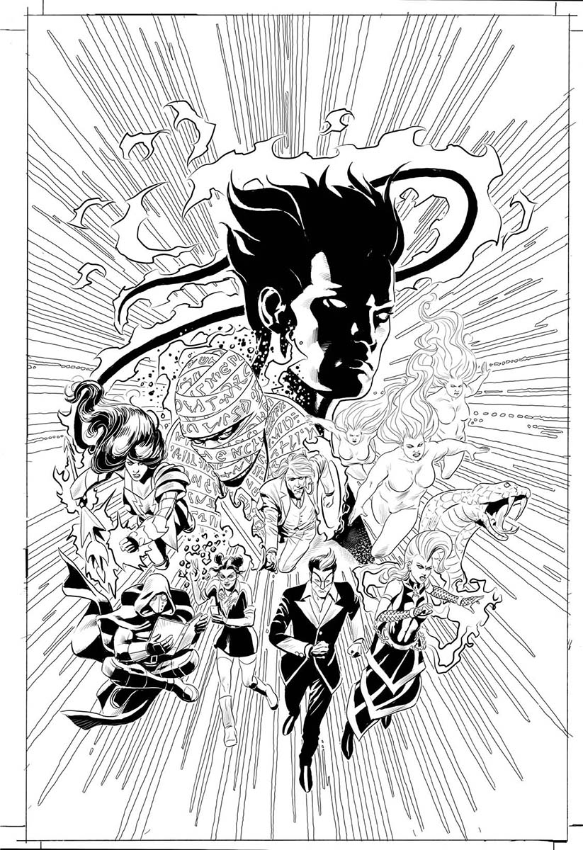 The Nine #0 Cover